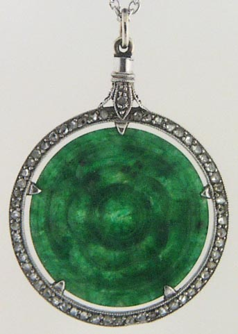 Jewelbizantique jewelry estate jewelry cartiertiffanyemeralds click the jade to see the other side aloadofball Choice Image